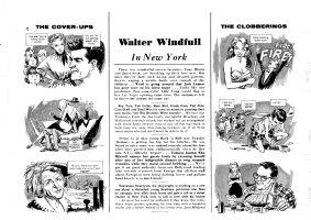 Woodbridge, George - Mad #63 double pgs 2 & 3 set signed - Tony Curtis & Janet Leigh, Steve Allen, ex-King George & Ma Kettle Comic Art