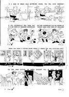 CLARKE, BOB - Mad #75 large pg 18, table food, Russia wedding 1962 Comic Art