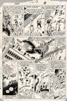 FRENZ, RON - Amazing Spiderman #273 pg 8, Spidey & Secret Wars - Wolvie & Avengers Comic Art