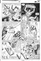 FRENZ, RON / BOB LAYTON - Amazing Spider-Man Annual #18 pg 36, Spidey vs Scorpion, 1984 Comic Art