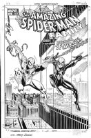 FRENZ, RON / SAL BUSCEMA - Amazing Spiderman Family #5 cover, Spidey, Spider Girl Comic Art