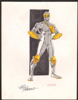 FRENZ, RON - Amazing Spiderman #272 Slyde inked & colored character design Comic Art