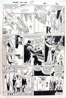 FRENZ, RON - Amazing Spider-Man #268 pg 20, Spider-Man tracks the Arranger Comic Art