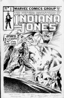 FRENZ, RON - Indiana Jones #5 cover, film series, Indy - the  Raider Of Lost Ark  Comic Art