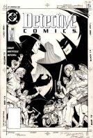 BREYFOGLE, NORM - Detective Comics #609 cover, Batman vs Anarky - 2nd appearance, 1989 Comic Art