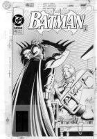 BREYFOGLE, NORM - Batman #476  Batman cover with Vicki Vale Comic Art