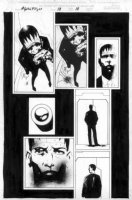 WOOD, ASHLEY - ALPHA FLIGHT #13 pg 18 Comic Art