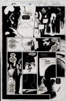 WOOD, ASHLEY - ALPHA FLIGHT #13 pg 20, AF done ala X-Files, lettering added  Comic Art