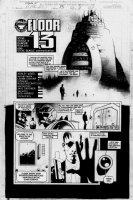 WOOD, ASHLEY - Alpha Flight #13 pg 4 Comic Art