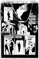 WOOD, ASHLEY - Alpha Flight #13 pg 6 Comic Art