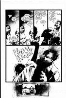 WOOD, ASHLEY - Garth Ennis' Shadowman #3 pg 15 Comic Art