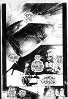 WOOD, ASHLEY - Garth Ennis' Shadowman #1 pg 17  Comic Art