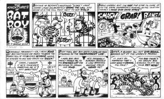 BAGGE, PETER - Batboy Sunday 2005 Comic Art