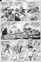 HALL, BOB - Champions #10 pg 30 Comic Art