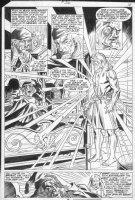 HALL, BOB - Marvel Classics #36 splashy pg 16, Christmas Carol Comic Art