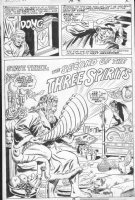 HALL, BOB - Marvel Classics #36 splashy pg 26, Christmas Carol Comic Art