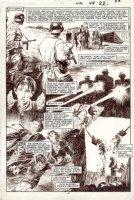 BLEVINS, BRETT - New Mutants #49 pg 17, Magneto alone, relives his WW2 origin in Nazi camp Comic Art