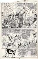 BLEVINS, BRETT / AL WILLIAMSON - New Mutants #80 pg 24, Mutants in Valhalla Comic Art