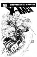 RAMOS, HUMBERTO - X-Men #201 Cover Comic Art