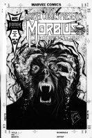 LIGHTLE, STEVE - Marvel Comics Presents #145 cover, Morbius the Living Vampire Comic Art