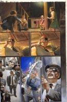 ROSS, ALEX - Marvels #2 painted pg, X-Men & Mutant girl - mutant hysteria Comic Art
