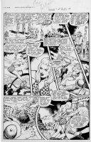 WEBB, ROBERT - Sheena #5 2up pg 10 1949 Comic Art