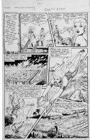 WEBB, ROBERT - Sheena #5 2up pg 4 1949 Comic Art