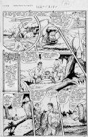 WEBB, ROBERT - Sheena #5 2up pg 5 1949 Comic Art