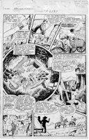 WEBB, ROBERT - Sheena #5 2up pg 11 1949 Comic Art