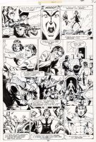 STEVENS, DAVE / RICK HOBERG - What If? #16 pg 42, Master of Kung Fu ala Bruce Lee 1979  Comic Art