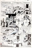 STEVENS, DAVE / RICK HOBERG - What If? #16 pg 37, Master of Kung Fu & Fu Manchu 1979  Comic Art