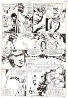 STEVENS, DAVE / RICK HOBERG - What If? #16 last pg, Master of Kung Fu ala Bruce Lee, Watcher -1979 Comic Art
