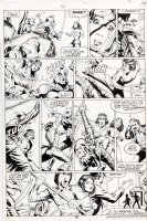 STEVENS, DAVE / RICK HOBERG - What If? #16 pg 39, Master of Kung Fu ala Bruce Lee 1979  Comic Art
