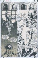 STERANKO, JIM - Nick Fury, Agent of SHIELD #3 pg 9, Fury saving psychic det Rachel from ghost? 1968 Comic Art