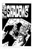 STERANKO, JIM - Tower of Shadows #1 cover, Jim's cover to his classic story  At the Stroke of Midnight!  1969 Comic Art
