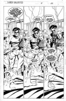LAWLIS, DAN - X-Men Unlimited #8 pg 22 Comic Art