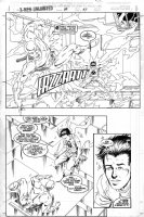 LAWLIS, DAN - X-Men Unlimited #8 pg 37 Comic Art