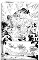LAWLIS, DAN - X-Men Unlimited #8 pg 44, splash Comic Art