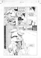 LAWLIS, DAN - Barbwire #3 pg 4 Comic Art