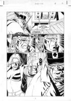 LAWLIS, DAN - Barbwire #3 pg 6 Comic Art