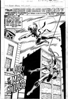 HUNT, DAVE / DUFFY VOHLAND ala JIM MOONEY - The Super-Heroes #40 Splash, Marvel UK Spider-Man & Cat Comic Art