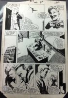 BAKER, KYLE / MIKE HARRIS - Web of Spider-Man #13 pg 6, Black Spidey, JJJ & photo 1986 Comic Art