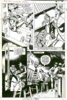 LEONARDI, RICK / JIM MOONEY - Spectacular Spider-Man #71 pg 11, Spidey  1982 Comic Art