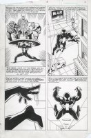SAVIUK, ALEX or  FRANK GIACOIA - Web OF Spider-Man Annual #3 Ditko Spidey hommage montage pg 1 Power & other Marvel heroes Comic Art