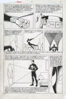 SAVIUK, ALEX or FRANK GIACOIA - Web OF Spider-Man Annual #3 Ditko Spidey hommage montage pg 3 powers & costume Comic Art