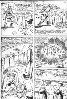SCHAFFENBERGER, KURT - Superman Family #184 pg 9, Jimmy Olsen escapes foreign jail Comic Art
