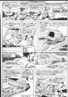 SCHAFFENBERGER, KURT - Superman Family #184 pg 10, Jimmy Olsen escapes foreign jail Comic Art