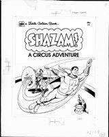 SCHAFFENBERGER, KURT - Captain Marvel - Shazam book 1970s  Book Cover Comic Art