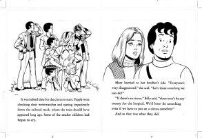 SCHAFFENBERGER, KURT - Captain Marvel - Shazam book 1970s  pages 6 & 7 Comic Art