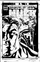 DODSON, TERRY - Hulk #433 cover Hulk vs Punisher face-off Comic Art